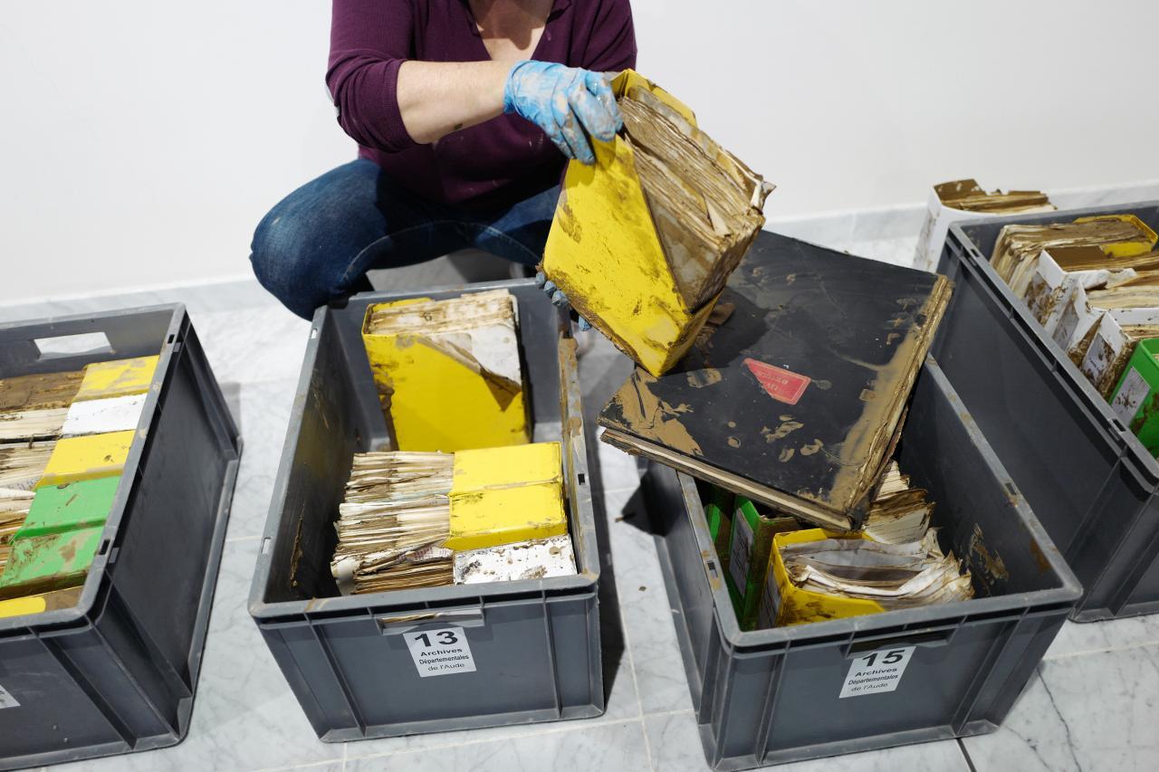 Des documents traités aux archives départementales