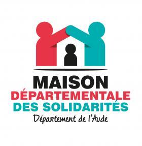 Logo maison départementale des solidarités de l'Aude