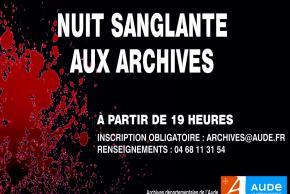NUIT SANGLANTE AUX ARCHIVES