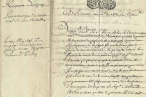 ATELIER DES ARCHIVES : PALEOGRAPHIE NIVEAU CONFIRME