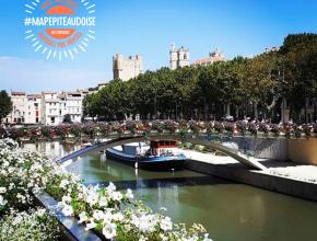 Narbonne et le canal de la Robine par @aydrey.delille