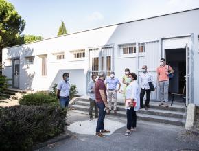 Un espace socio-éducatif a été créé au collège Jules Verne de Carcassonne