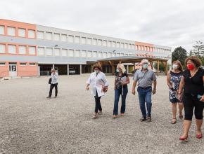 Les revêtements de surface du collège Joseph Delteil à Limoux ont été rénovés