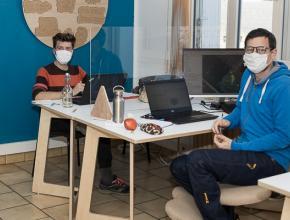 Espace de coworking au tiers lieu de Limoux