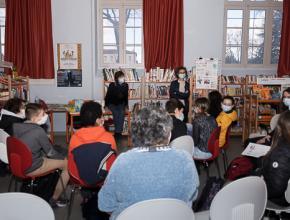 Rencontre Florence Thinard collège bastion Carcassonne prix des incorruptibles 2021