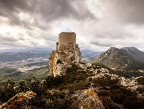 Citadelle du vertige - chateau de queribus