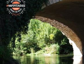 Pont-canal sur la Cesse