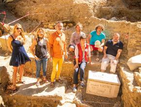 Fin de la campagne de fouilles archéologiques au collège Victor-Hugo