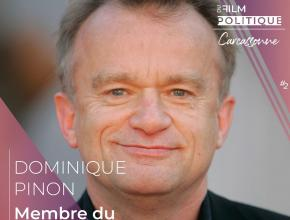 Dominique Pinon, comédien et membre du jury professionnel du festival international du film politique de Carcassonne.