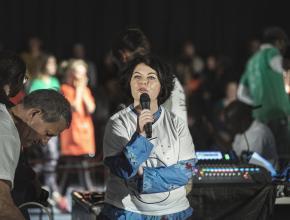 Valérie Dumontet, vice-présidente chargé de la démocratie et de la participation citoyenne au Département.