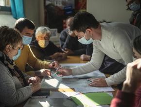 Atelier de concertation sur le plan de gestion des citadelles du vertige, candidature Unesco, à Termes.