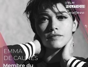 Emma de Caunes, comédienne, membre du jury professionnel du festival international du film politique de Carcassonne.
