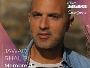 Jawad Rhalib, réalisateur et scénariste, membre du jury professionnel du festival international du film politique de Carcassonne.