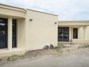 les futurs locaux de la maison APAR et de l'espace seniors du Narbonnais