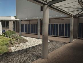Près de 300 000 € de travaux ont été réalisés, cette année au collège Les Mailheuls à Coursan