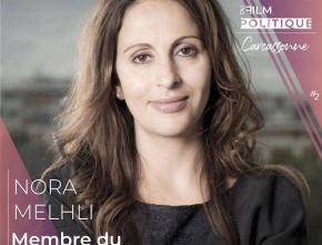 Nora Melhli, productrice, membre du jury professionnel du festival international du film politique de Carcassonne.