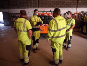 Opération ramassage déchets sur les routes de l'Aude