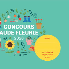 DIPLOME CONCOURS AUDE FLEURIE