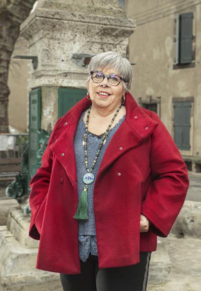 Jackie Montana, présidente de Parole de femmes Aude