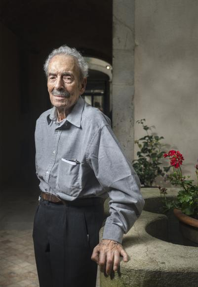 Portrait de l'artiste peintre Joan Jordà