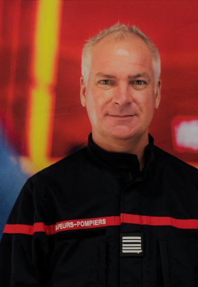 Jean-Luc Beccari, nouveau directeur du Sdis 11