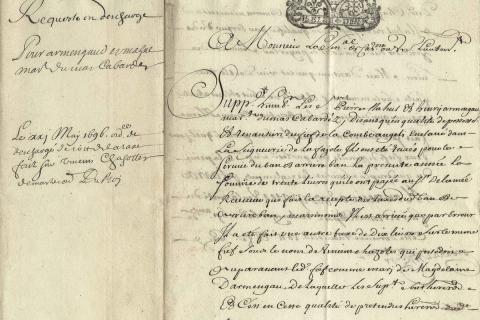 ATELIER DES ARCHIVES : PALEOGRAPHIE NIVEAU DEBUTANT ET INTERMEDIAIRE