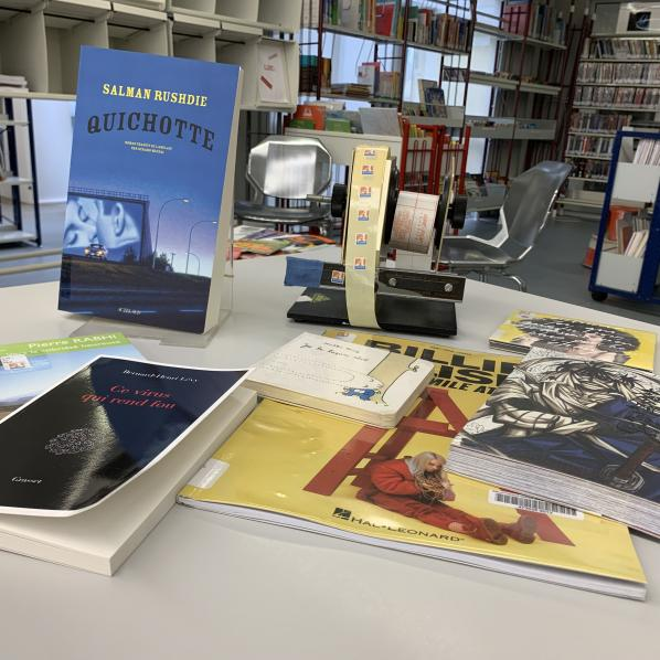 collections bibliotheque