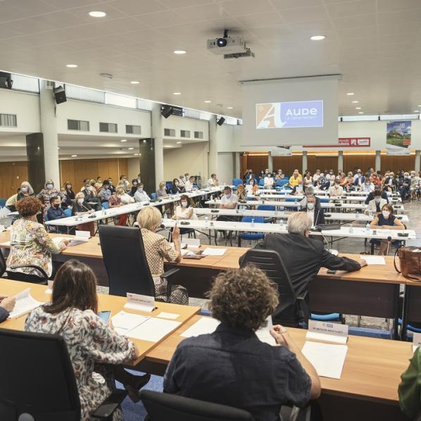 assemblée départementale de l'aude 2021 en session