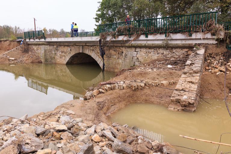 Inondations les dégâts dans l'Aude