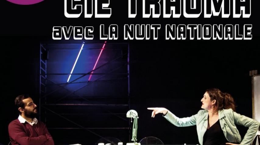 AFFICHE La nuit nationale - Cie Traüma - Ring 2019-22
