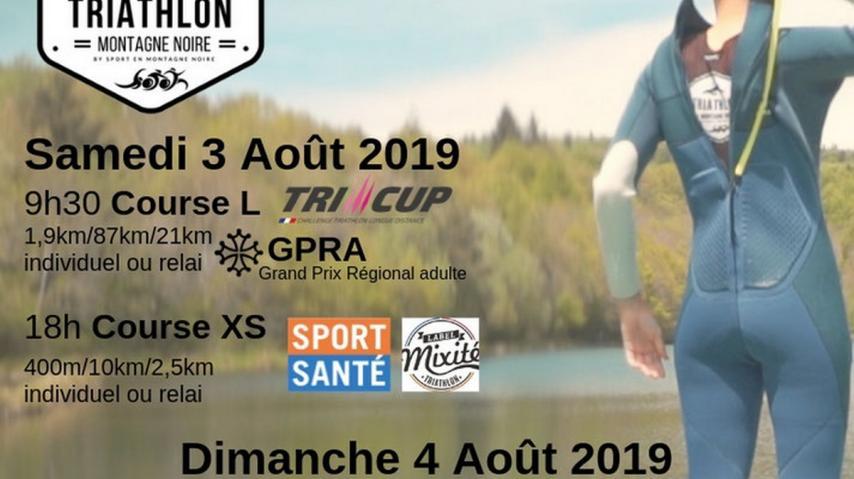 TRIATHLON DE LA MONTAGNE NOIRE 2019