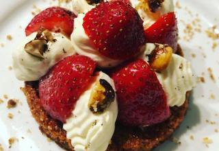 Recette de Dacquoise aux fraises
