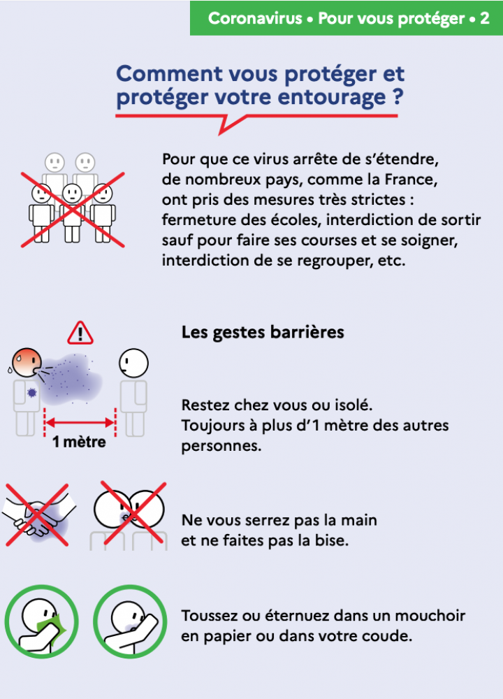 GESTES BARRIERES 2