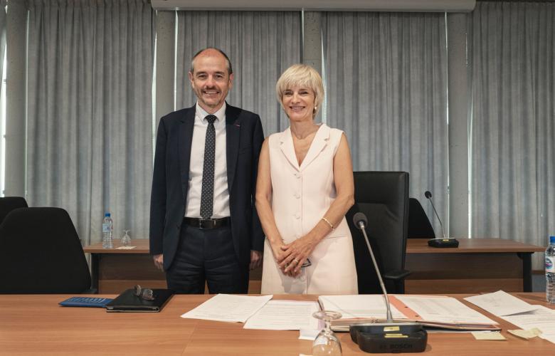 HELENE SANDRAGNE PRESIDENTE DEPARTEMENT AUDE ET ANDRE VIOLA