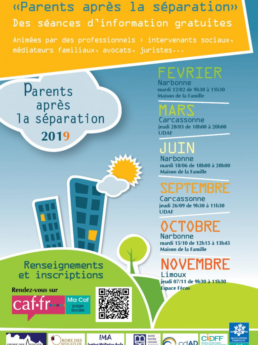 affiche parents apres la séparation