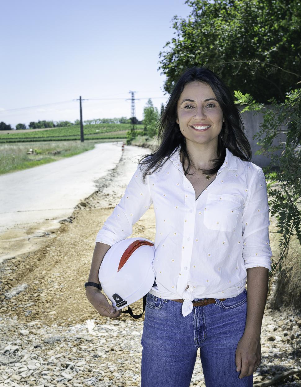 Portrait de Camille Lamoureux