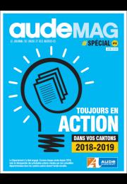 Comme chaque année, le Département de l'Aude vous propose un bilan de son action au quotidien, dans tous les cantons